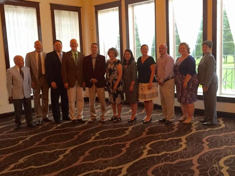 Rotary Club of Vineland 2015-2016 leadership