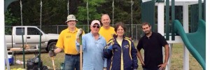 Playground created by Vineland Rotary